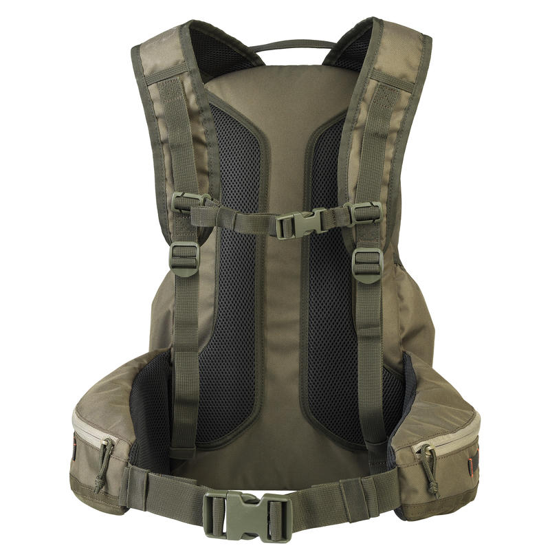 KHAKI X-ACCESS SMALL GAME HUNTING BACKPACK 20 LITRES