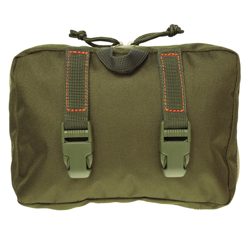 WILD DISCOVERY X-Access Pouch with Secure Zipped Compartments - Green