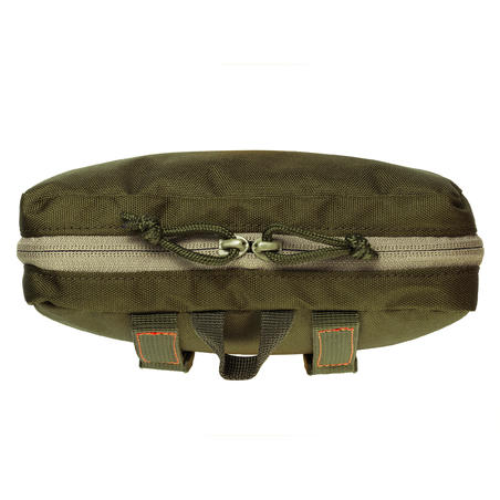 X-Access Hunting Pouch with Secure Zipped Compartments - Green