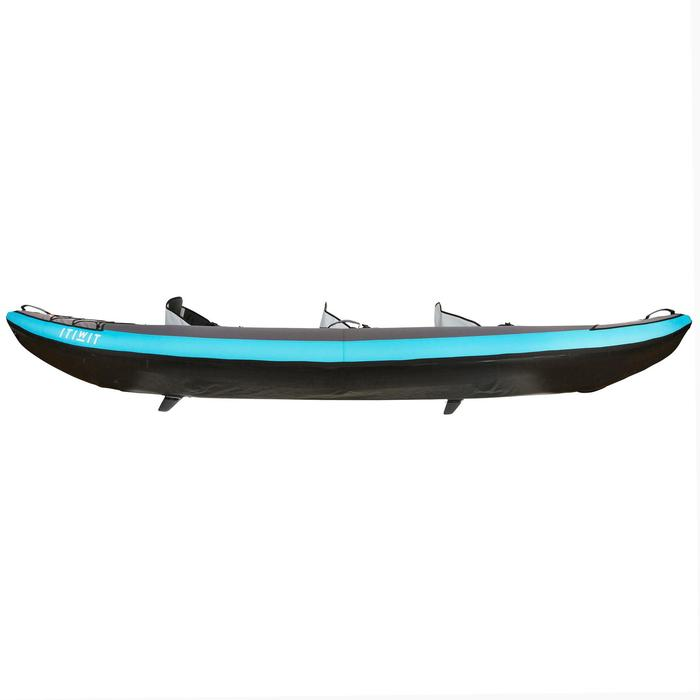 Kajak aufblasbar 2/3-Sitzer blau
