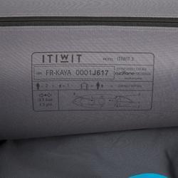 Kajak aufblasbar Touring 2/3-Sitzer blau