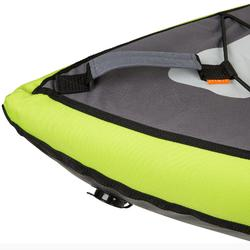 充氣式1/2人座巡航獨木舟-綠色