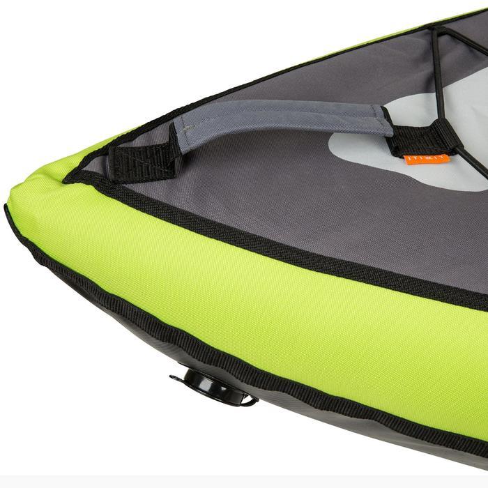 Kajak aufblasbar Touring 1/2-Sitzer grün