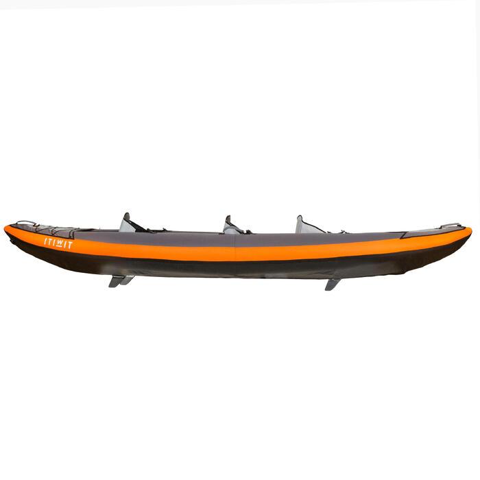 S號獨木舟或立式單槳導流片-黑色