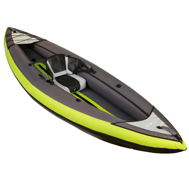 INFLATABLE CRUISING KAYAK 1/2 SEAT - GREEN