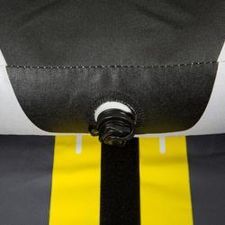 Kajak aufblasbar Touring 1-Sitzer gelb