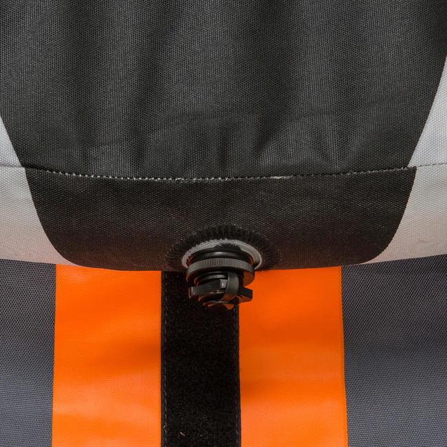 INFLATABLE CRUISING KAYAK 2/3 SEAT - ORANGE