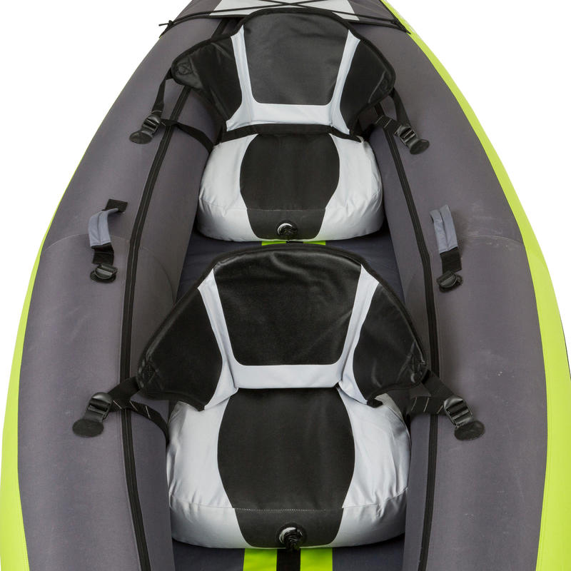 CANOA KAYAK INFLABLE 1/2 PLAZAS VERDE
