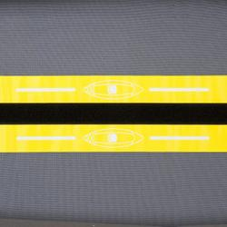 充氣式單人座巡航獨木舟-黃色