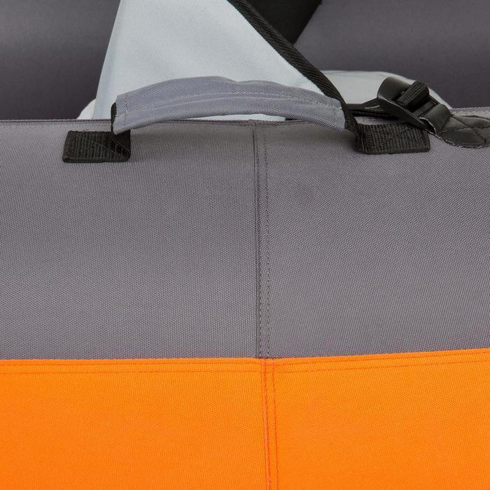 Kajak aufblasbar Touring 2/3-Sitzer orange