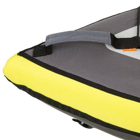 canoe kayak gonflable 1 place jaune itiwit. Black Bedroom Furniture Sets. Home Design Ideas