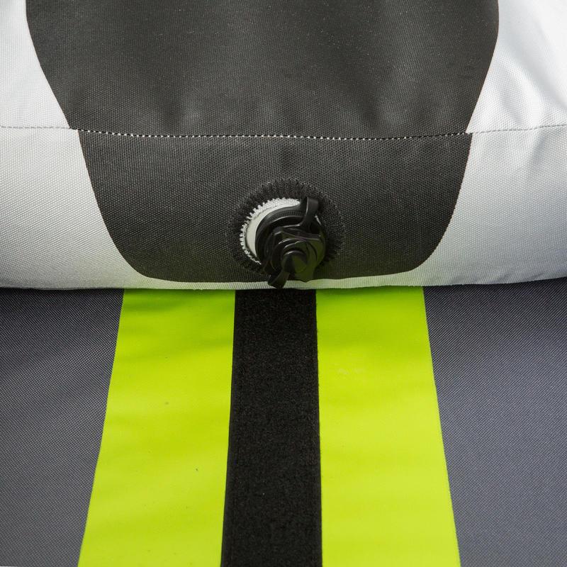 เรือคายัดสำหรับพายเที่ยวแบบสูบลม 1 หรือ 2 ที่นั่ง (สีเขียว)