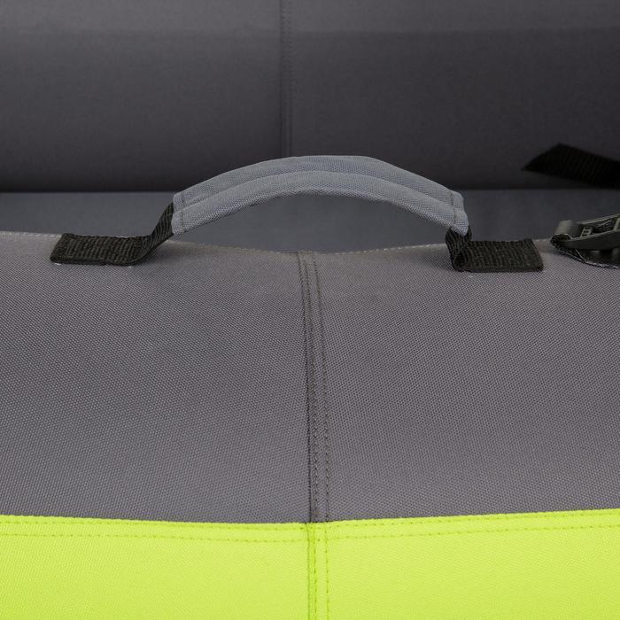 Kajak aufblasbar 1/2-Sitzer grün