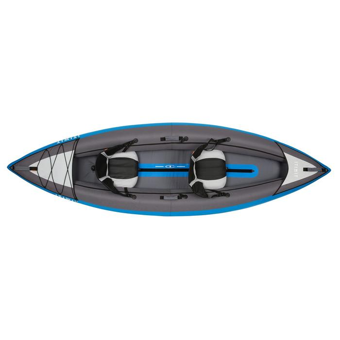 CANOE KAYAK GONFLABLE 1/2 PLACES BLEU