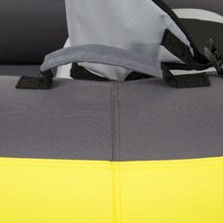 Opblaasb. kajak 1-persoons geel