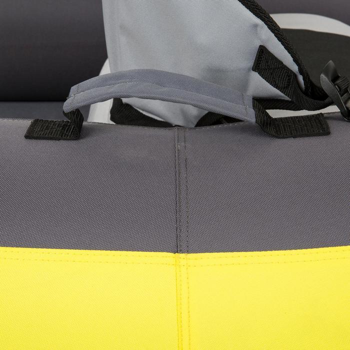 Opblaasb. toerkajak 1-persoons geel