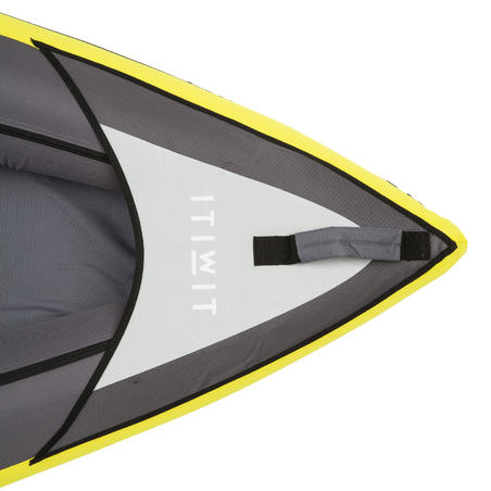 INFLATABLE CRUISING KAYAK 1 PLACE YELLOW
