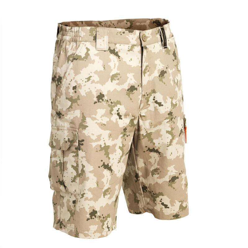 Men's Bermuda Shorts 500 Camo Island Desert