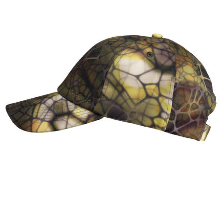 CASQUETTE CHASSE 100 CAMOUFLAGE FURTIV