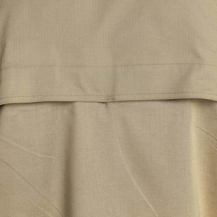 Chemise 500 marron manches longues - 1064523