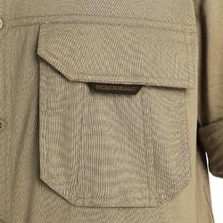 Camisa Caza Solognac Sg500 Manga Larga Ligera Marrón