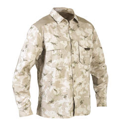 Overhemd 500 met lange mouwen