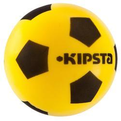 Fußball Schaum 300 Schaumstoff Größe4 gelb/schwarz