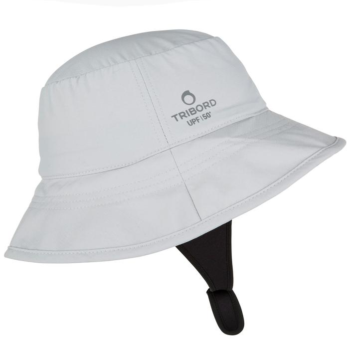 SOMBRERO surf anti-UV Adulto Gris Olaian  4a982cda23c