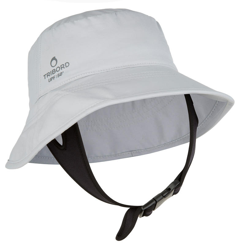 Adult UV Protection Surf Hat - Grey