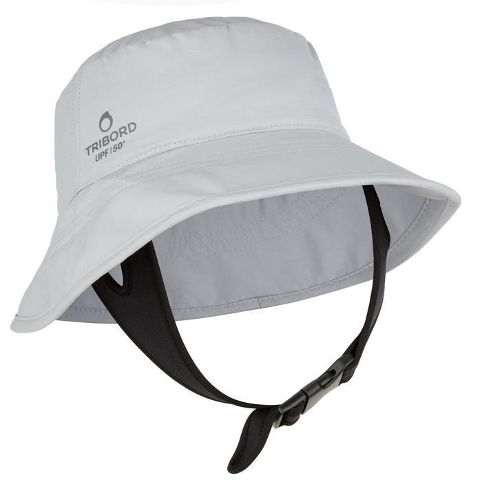 CHAPEAU surf anti UV Adulte Gris - 1064777