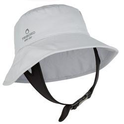 Uv-werende hoed voor volwassenen grijs