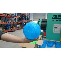 Fußball Easyball Gr. 5 in 6 Teile zerlegbar blau