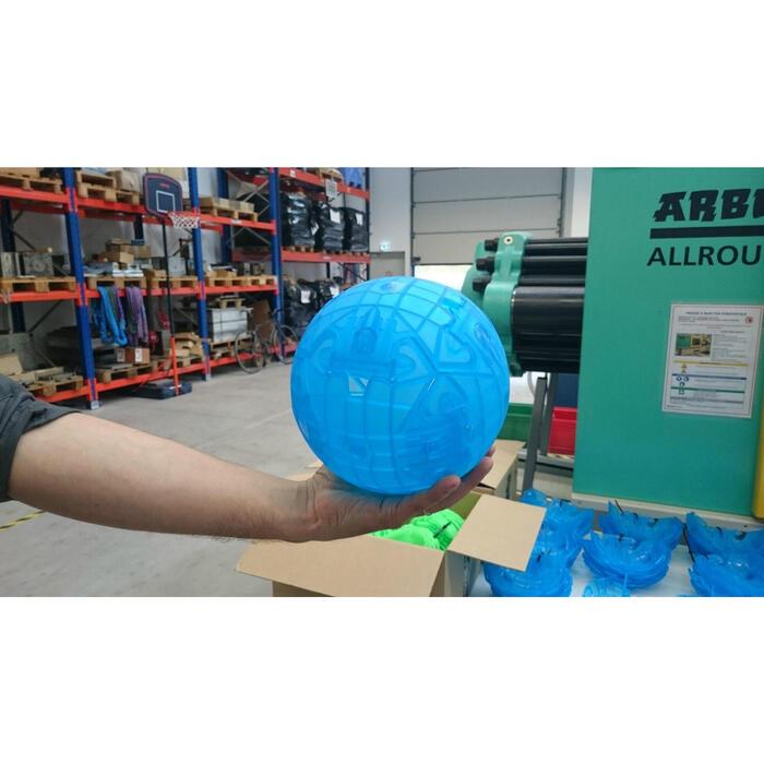 Voetbal Easyball maat 5 blauw