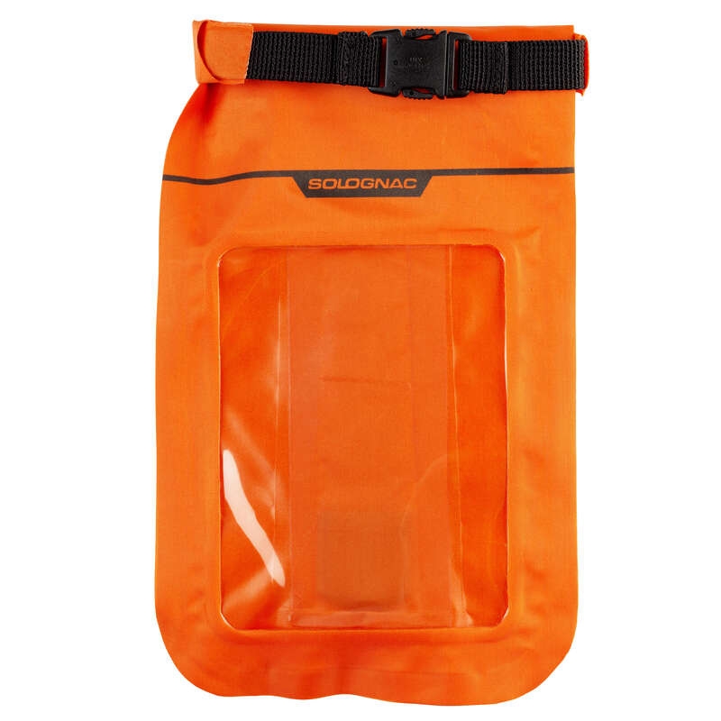 BAGS Shooting and Hunting - WATERPROOF POCKET X-ACC ORANGE SOLOGNAC - Hunting and Shooting Accessories