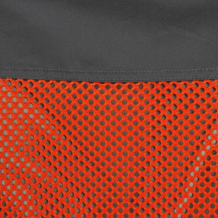 GILET BALL TRAP 100 ORANGE GRIS - 1064899