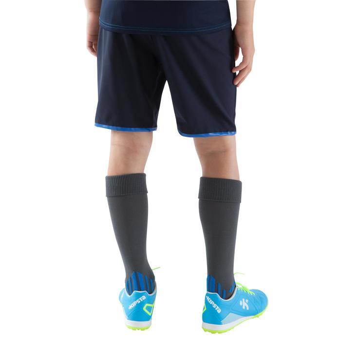 Short de football enfant F500 gris et - 1064963