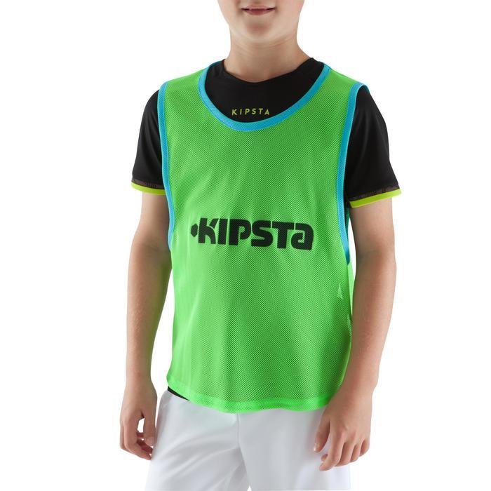 Chasuble sports collectifs enfant verte