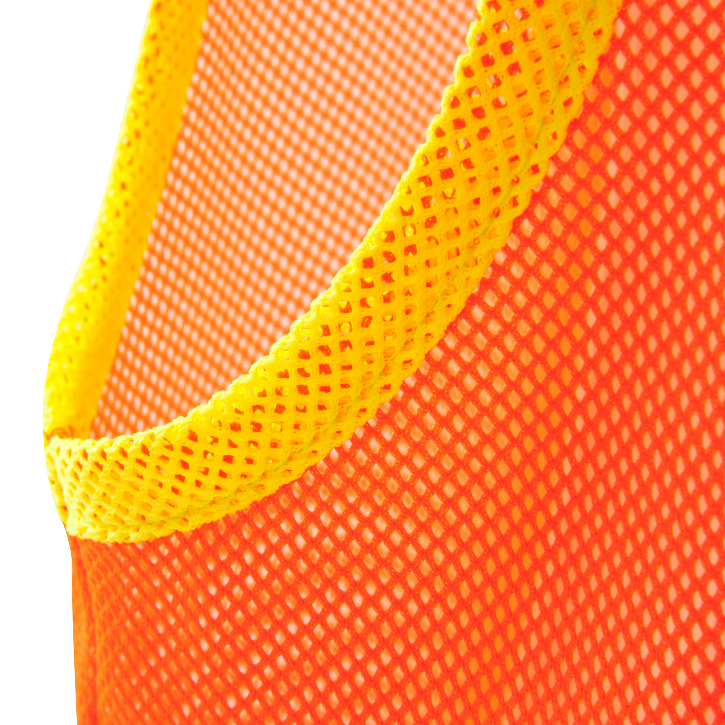Dossard pour sports collectifs enfant orange