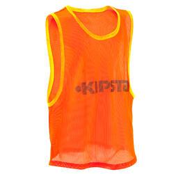 Chasuble sports collectifs enfant orange
