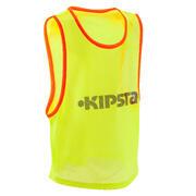 Rumena nogometna majica za trening za otroke