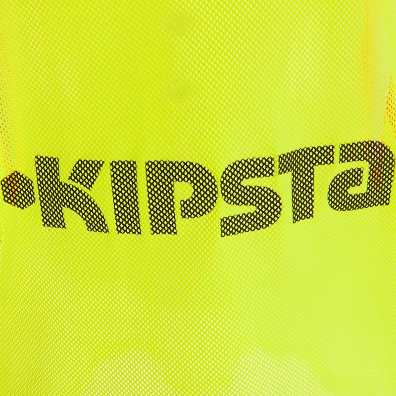 เสื้อแบ่งทีมเล่นฟุตบอลสำหรับเด็ก (สีเหลือง)