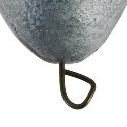 Angelgewicht Olive mit Loch, bleifrei