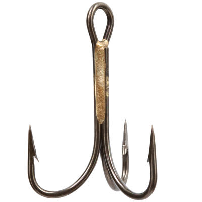 FISHING HOOK TREBLE BRONZE