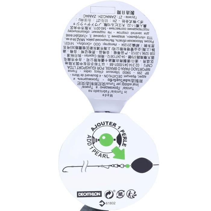 PLOMB DE PÊCHE LESTS OLIVE BOMBEE PERCEE 0%PB - 1065137