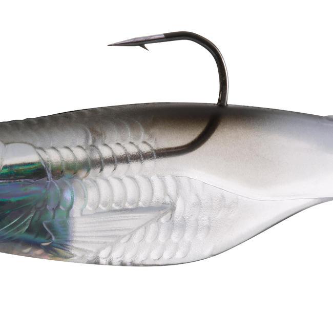 CHELT 100 BLACK BACK SOFT FISHING LURE