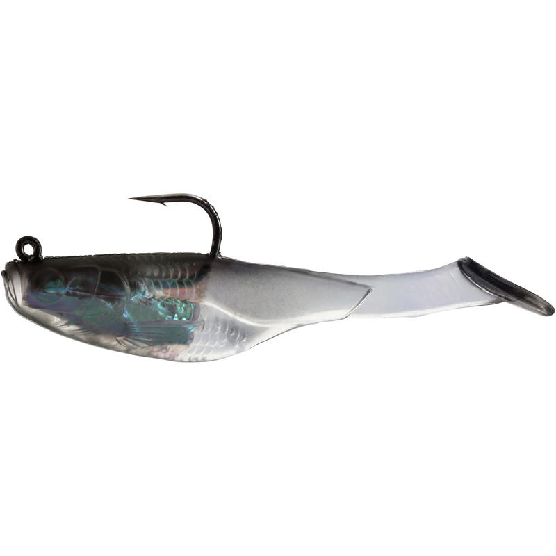 CHELT 50 SOFT FISHING LURE - BLACK BACK