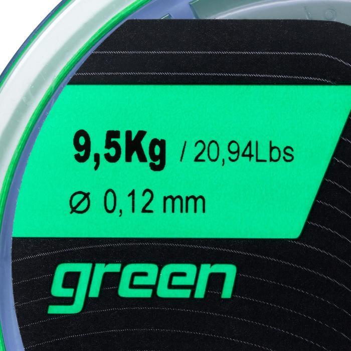 Angelschnur 8-fach geflochten grün 130 m