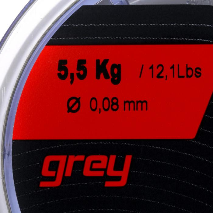 TRENZA DE PESCA TX8 GRIS 130 M 8/100