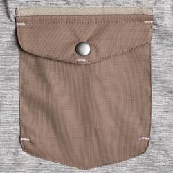 女童3合1雪地健行保暖外套SH500-米色