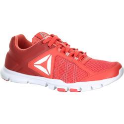Damessneakers Yourflex koraal
